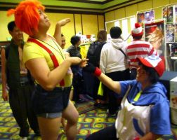 ALA11-Ash Proposes to Misty by moonymonster