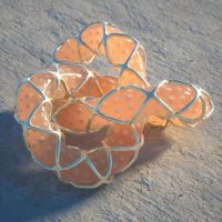 Wrapped torus knot rendered in Octane by davidbrinnen