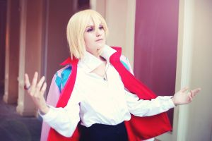 Howl's moving castle: Howl Jenkins Pendragon by GeshaPetrovich