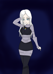 Request from foreverwhitefang(her oc humanized) by DemonQueenAsura