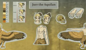Jurr Reference sheet by Biali
