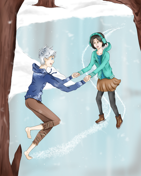 Ice Skating by DeviCaity