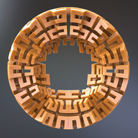 Incendia Ex Voxel Exported Mesh by nic022