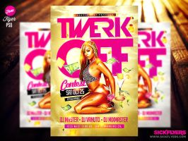 Twerk Flyer Template by Industrykidz
