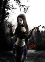 Black Metal Girl by Axcido