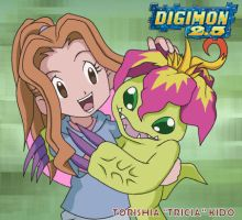 Best Partner: Tricia and Palmon by CherrygirlUK19