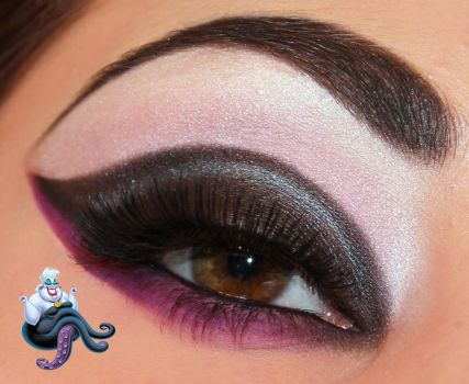 Disney Series : Ursula Inspired Makeup by Luhivy