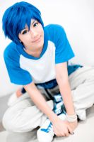 Vocaloid Kaito : Smile by Itchy-Hands