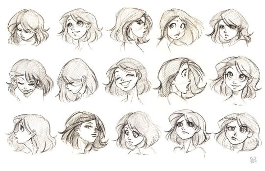 Lumiere expressions by MoonLightRose17