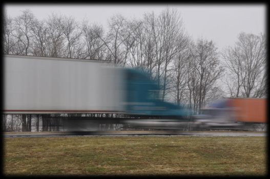 Slow Motion Interstate.. by ScorpioX1029X