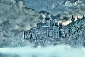 Winter Castle. by Shadow-of-Nemo
