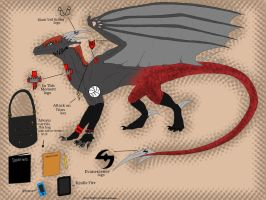 Dragonized Moi by queenfirelily17