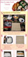 Sushi Tutorial by Corselia