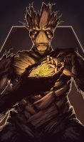 I am Groot by Gido