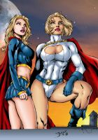 power supergirl by Ed Benes by tony058