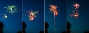 4th of July Fireworks Stock 8 by AreteStock