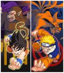Goku and Naruto by ISonGoku