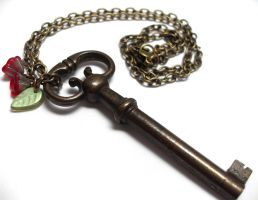 Passage Necklace no. 168 by sojourncuriosities