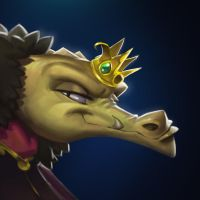 Dungeon Defenders Kobold King Portrait by DanielAraya