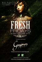 Fresh Fridays Flyer by DeityDesignz