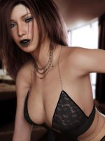 black lips by SaphireNishi