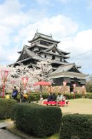 Matsue Castle by Size-And-Stupidity