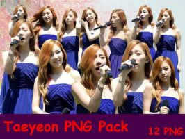 Taeyeon PNG Pack by KarynFeliana