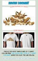 Eevee T-shirt - FOR SALE AGAIN! by Cachomon