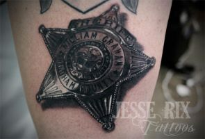 sheriff badge by jesserix