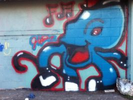 spray paint octopus (complete) by bigdaddyred