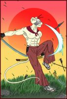 Ronin Mouse from Mars by nicosirocco