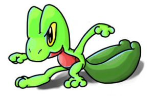 Treecko by Red8ball
