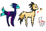 Collab Adopt ~ Guppy Ponies ~ 4/4 Open by lilacponylover125