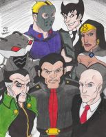 Young Justice Villains by Crash2014