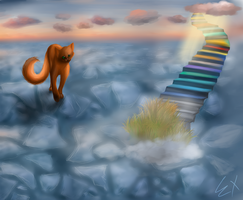stairway to heaven. by Extrana