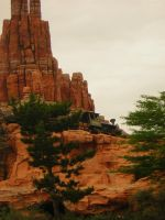 Train on Big Thunder Mountain by Daftje