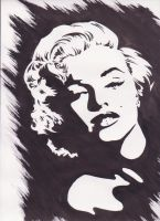 Marilyn Monroe by ladymadge