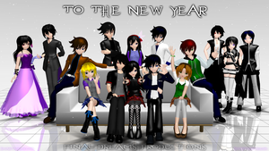 To the New Year (2014) by Smartanimegirl
