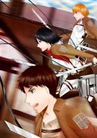 Attack on Titan by Tishawish