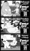 Family Guy Newsprint Ads by PatrickJoseph