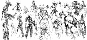 MRT Sketches by xcanner