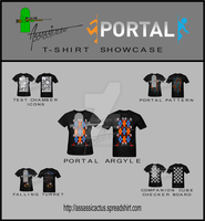 Portal T-Shirts Showcase by RussianGentleman
