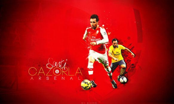 Santi Cazorla Wallpaper - Arsenal by MisterMazen