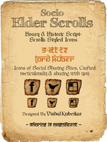 Socio Elder Scroll Icons by vishal-kuberkar