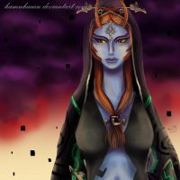 Twilight Princess Midna by Cascadena