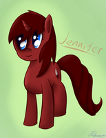 Request - Jennifer by Zhooves