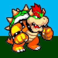 Bowser Sprite by thenardsofdoom