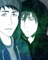SouMako Gangster-Rappers by LoveToTheCucumber