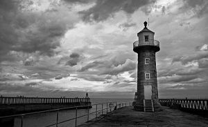 Lighthouse, Whitby by filmwaster