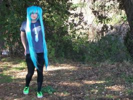 Casual Miku Cosplay by xxx-TeddyBear-xxx
